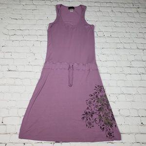 Athleta Tie Waist Knit Tank Dress S